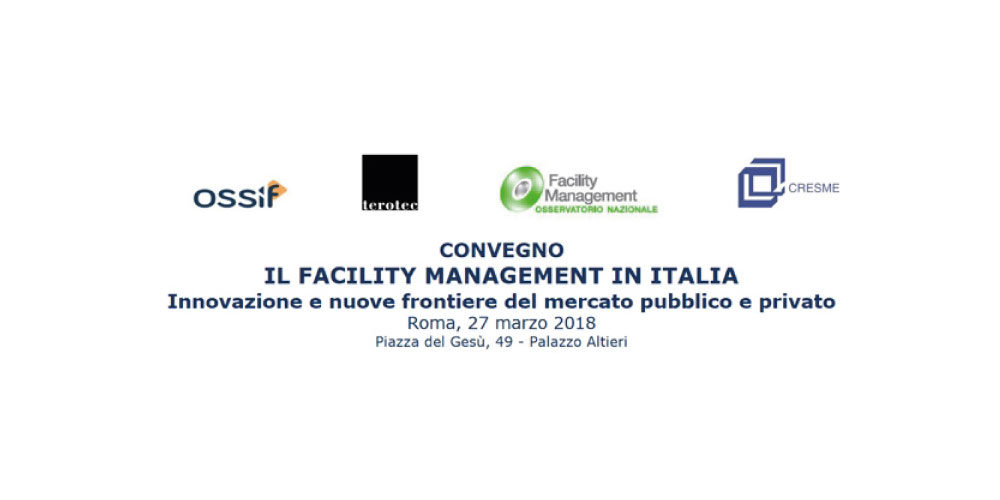 Evento ABI - IL FACILITY MANAGEMENT IN ITALIA 2018